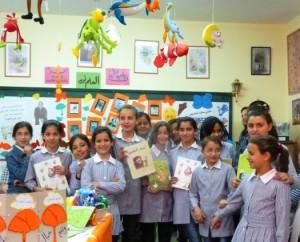 Böcker till barn i Palestina och i flyktingläger
